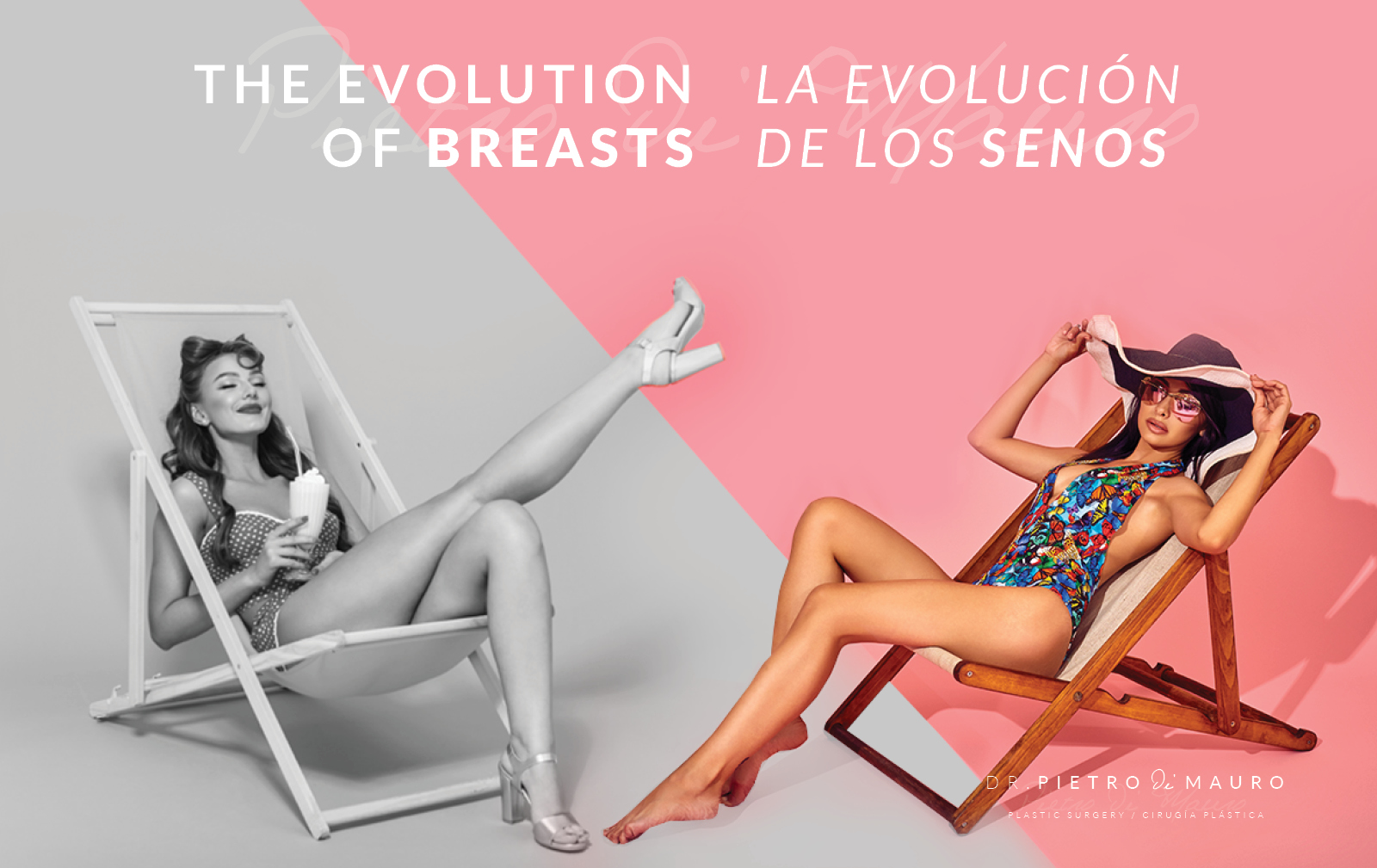 The evolution of breasts la evolución de los senos - Pietro Di Mauro