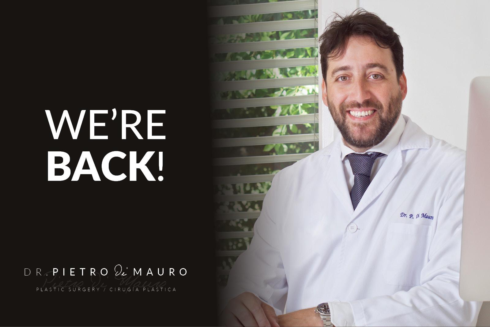 We´re back! - Pietro Di Mauro