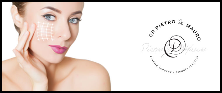 Beautiful woman with successful cheek reduction - Pietro Di Mauro