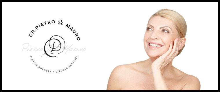 Blond woman with successful eye lift - Pietro Di Mauro